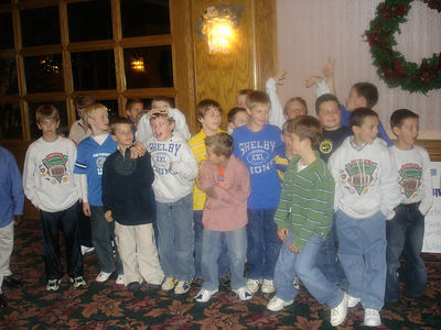 Shelby Lions Football Club - 2005 Banquet