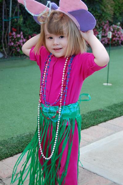 Olivia all dressed up