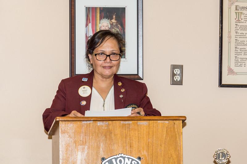Zone Chairperson - Lion Gina Heeger