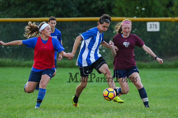 2017-8-8 WHS Girls Summer Soccer Workout and Boys vs Girls Scrimmage