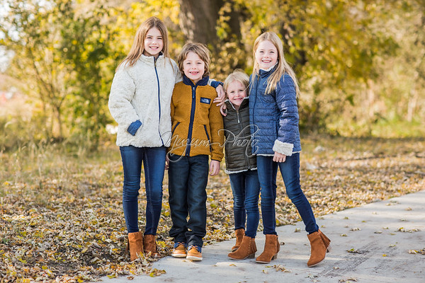 November 2019 - Reagen, Riley, Owen, and Lola