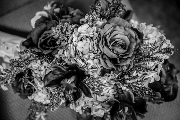 Lauren & Josh B/W Wedding Photos