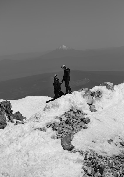 Mount Shasta Engagement Photos