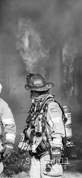 Hanover St ~ 3 Alarm ~ Black and White