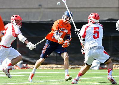 NCAA MLax: UVA at Cornell; 3/12/16