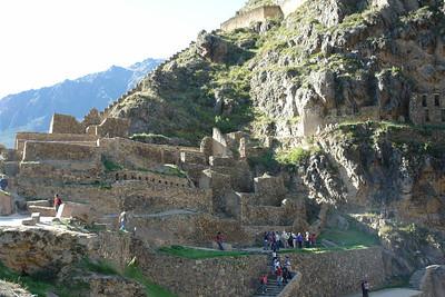 Ollantaytambo Ruins, Peru 2012