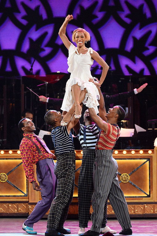 . The cast of \'After Midnight\' performs onstage during the 68th Annual Tony Awards at Radio City Music Hall on June 8, 2014 in New York City.  (Photo by Theo Wargo/Getty Images for Tony Awards Productions)