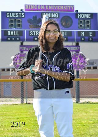 2019 Rincon UHS softball