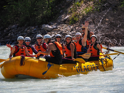 2019 Canadian Rockies Rafting Trip