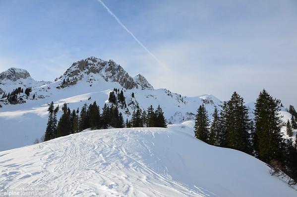 Gamsfuss ski tour, Kleinwalsertal 2013-01-01