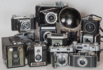 Kodak Camera Line-up - 1949