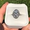 1.75ctw Edwardian Toi et Moi Old European Cut Diamond Ring  23