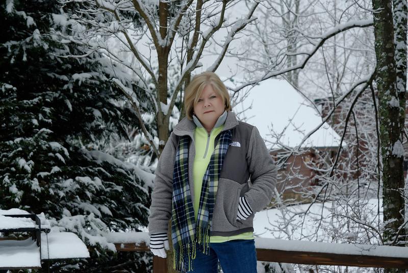 Snow Walk - Gatlinburg TN