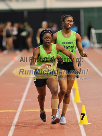 Girl's 4 x 400 Relay - 2012 MITS Finals