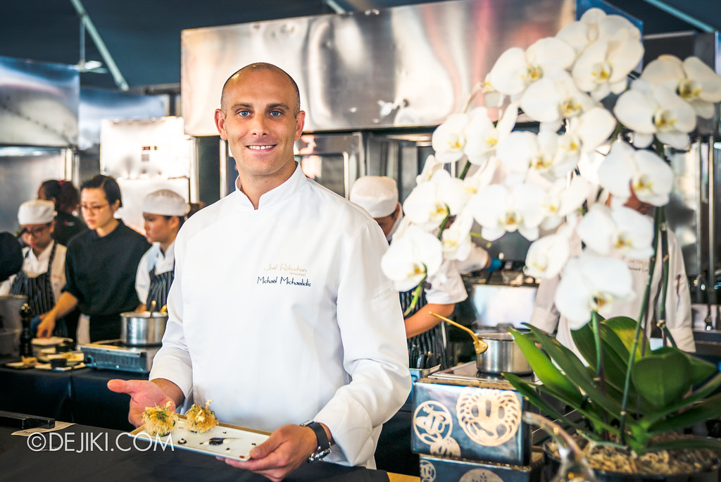 The Great Food Festival RWS - Celebrity Chef Area / Michael Michaelidis from Joël Robuchon Restaurant
