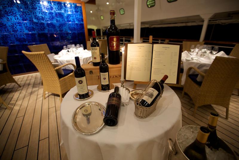SeaDream Yacht Club - Topside Restaurant