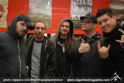 Less Than Jake - at 1Up Records and Moshulu - Aberdeen, UK - November 18, 2008