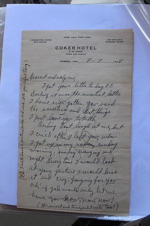 1938 & 1939 Letters to Louise Hardgrave