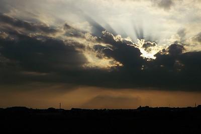Nebe nad Olomoucí 2013