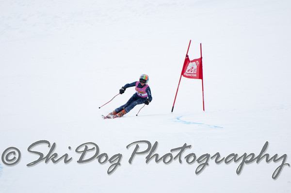 NW Cup Finals GS 1st Run Women