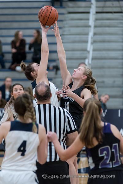 2019-20 Girls JV Basketball vs. Ridgeview