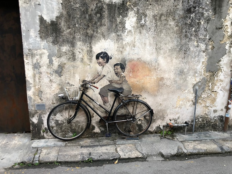 Penang Street Art in TVB 單戀雙城