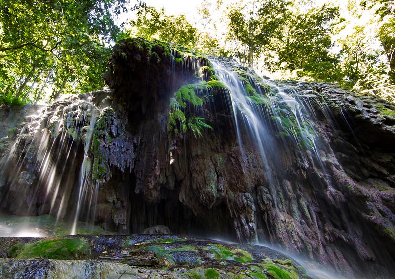 Image Title: Waterfall at No. 2 Dales_2.  Image No. kee1541b