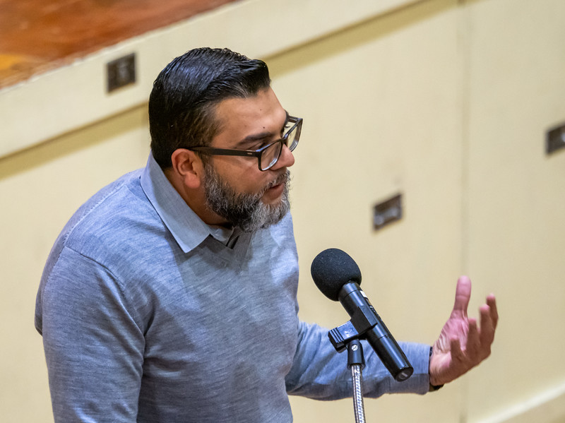 Fahad Alam, President of the South Bay Islamic Association.