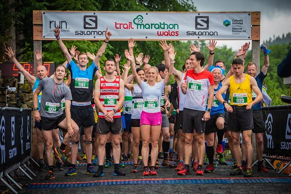 Trail Marathon Wales - Half Finish Pictures