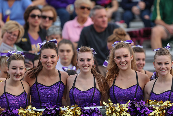 Dance Team at Lee Football Game 9/2/16