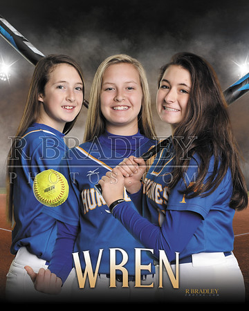 2019 Wren Softball