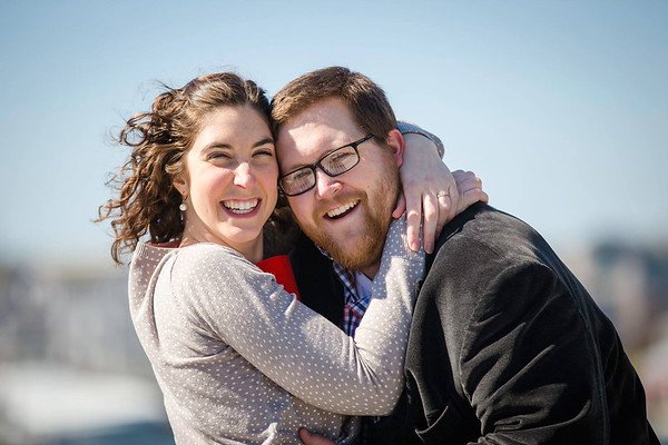 Becky and Robin's Portsmouth, NH Engagement Shoot