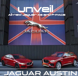 Unveil All-new Jaguar XE and F-PACE
