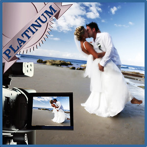 31215 Professional wedding day videography Platinum