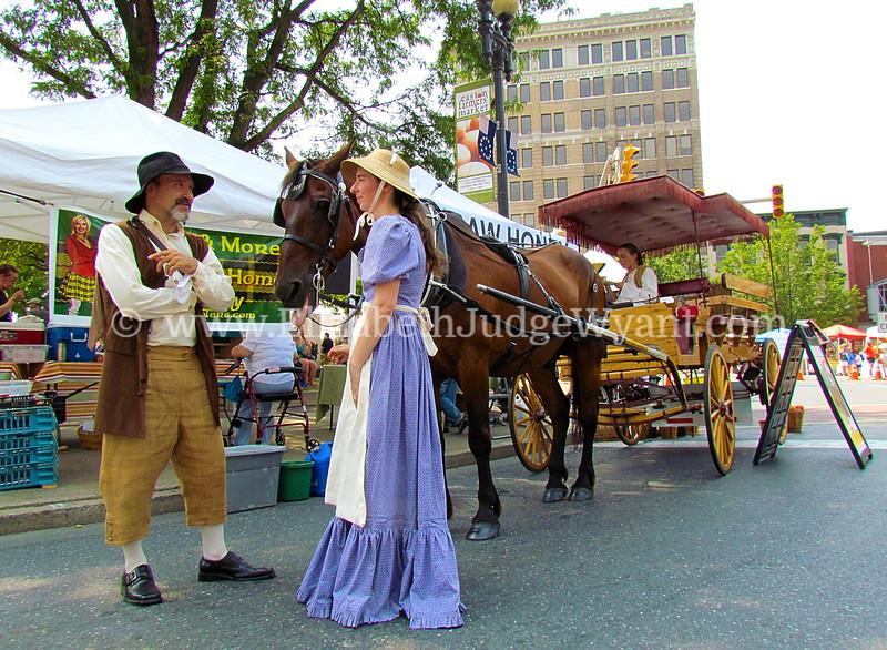Easton Farmers Market, Easton, PA  7/7/2012