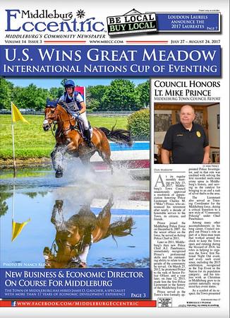 Middleburg Eccentric Newspaper