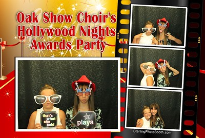 Oak Show Choir's Hollywood Nights Awards Party