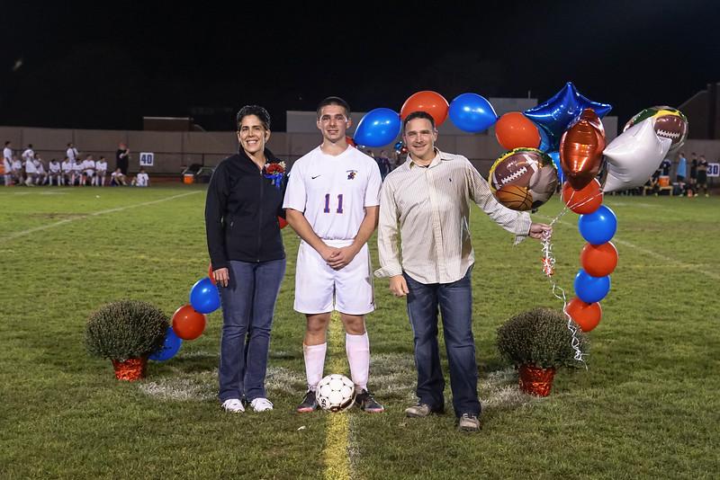 SeniorNight on the Field