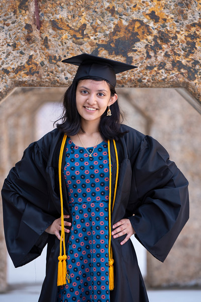 20190606 Himani Bhat Senior Cap and Gown Ed