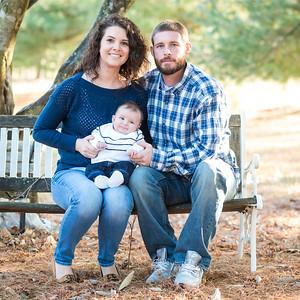 Natalie & Brandon's Newborn Portraits