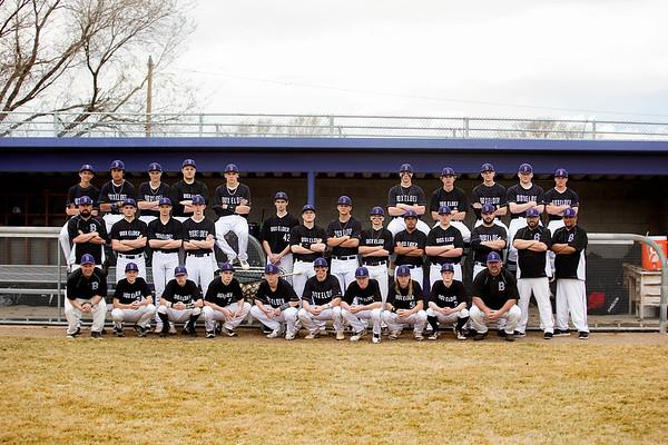 BEHS Baseball Team - 2018