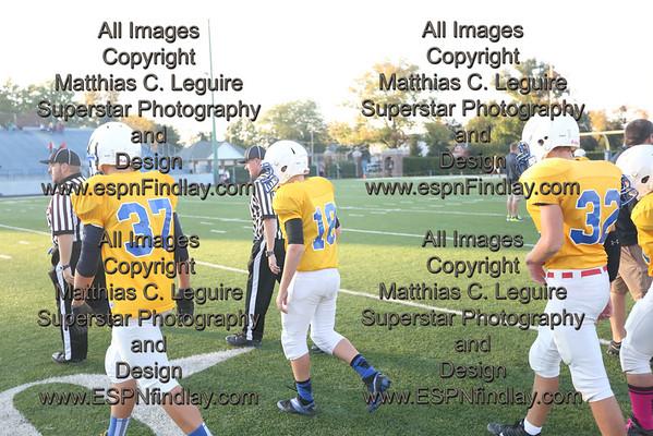 2013-10-16 8th Grade Glenwood vs. Donnell