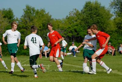Mankato United  U15 Boys Lakeville 6-20-10