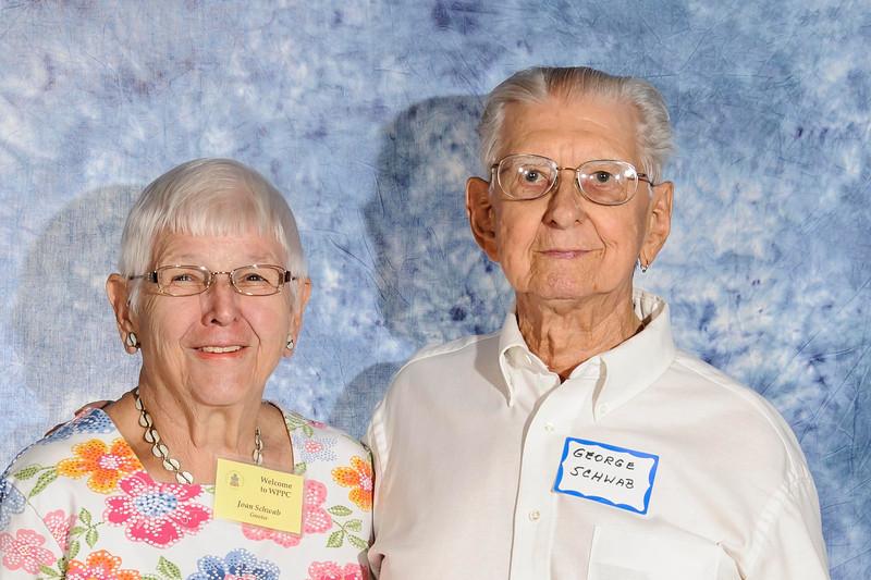 Joan and George Schwab