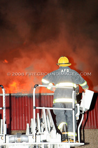 Main St. Strip Mall Fire (Ansonia, CT) 11/15/07