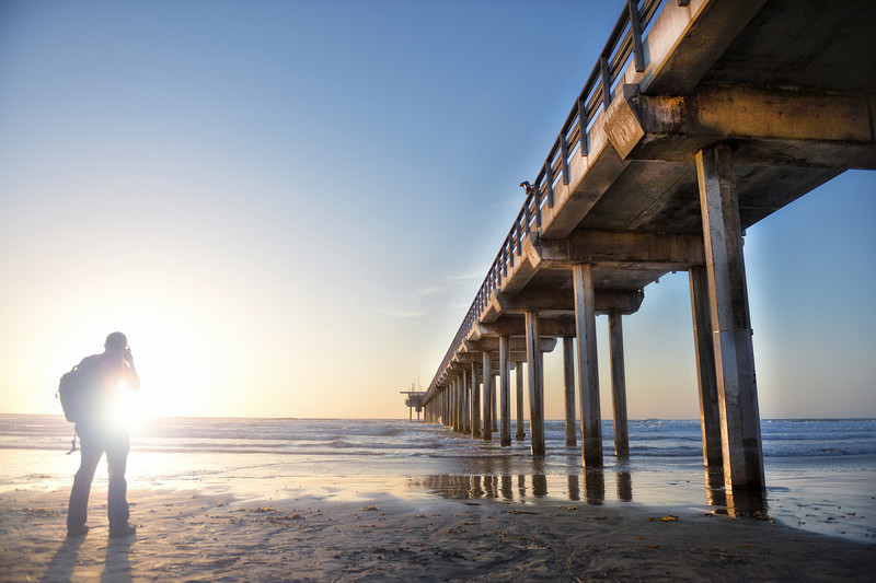 scripps pier for sunset shots