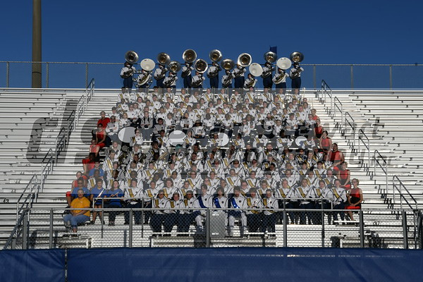 Titusville Football @ Band Images Sept 28th