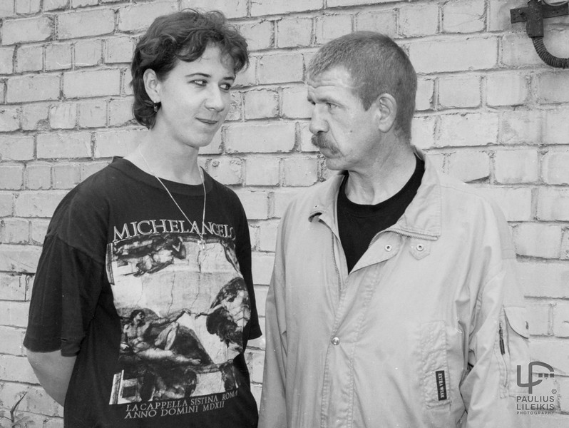 Jurga Čekatauskaitė ir klasikas...Juozas Erlickas