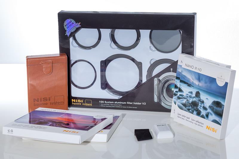 Test du Pack Nisi Filters