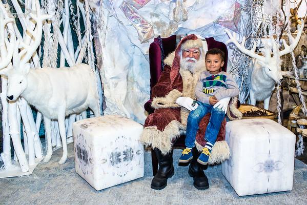 Cash meets Santa!